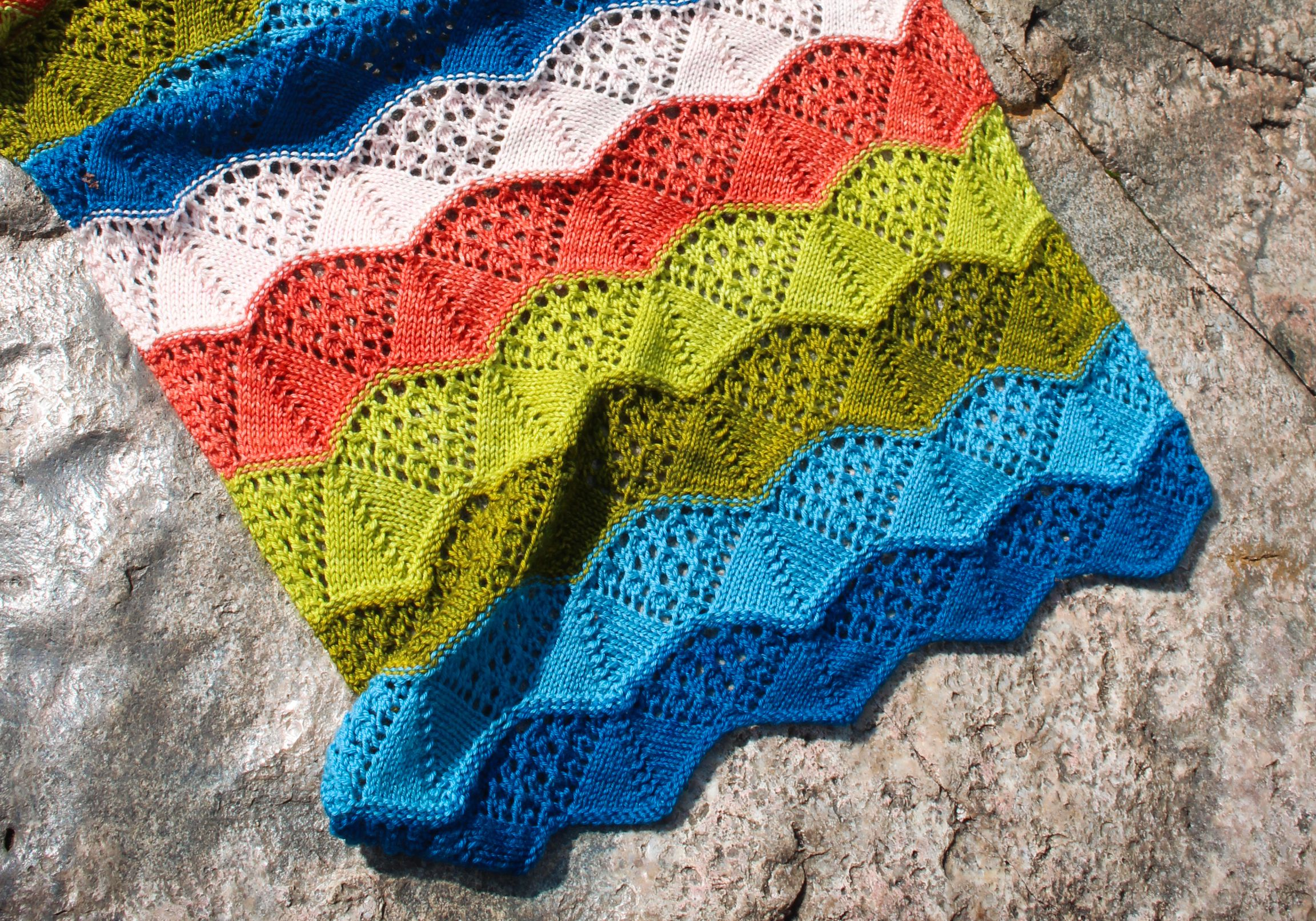Lovequist Lace Baby Blanket Pattern