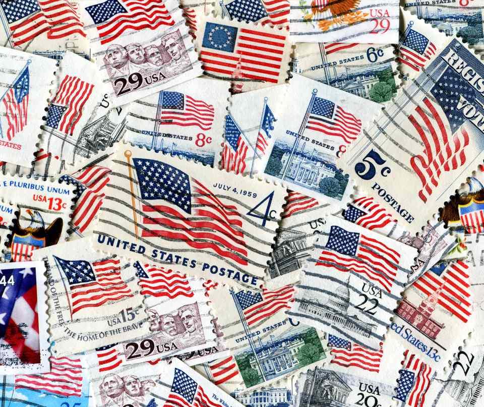 American Flag Stamps XXXL