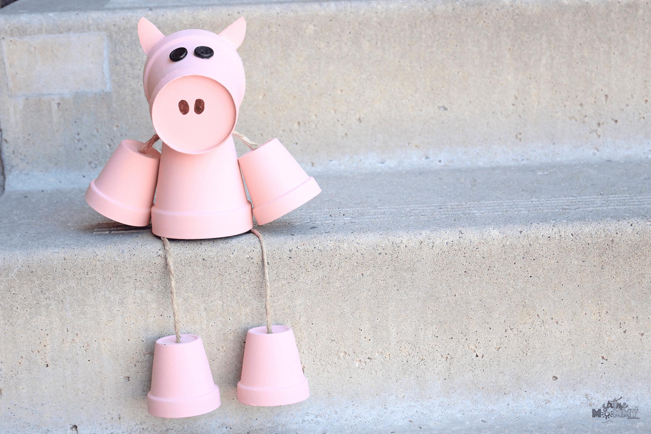 Clay Pot Pig