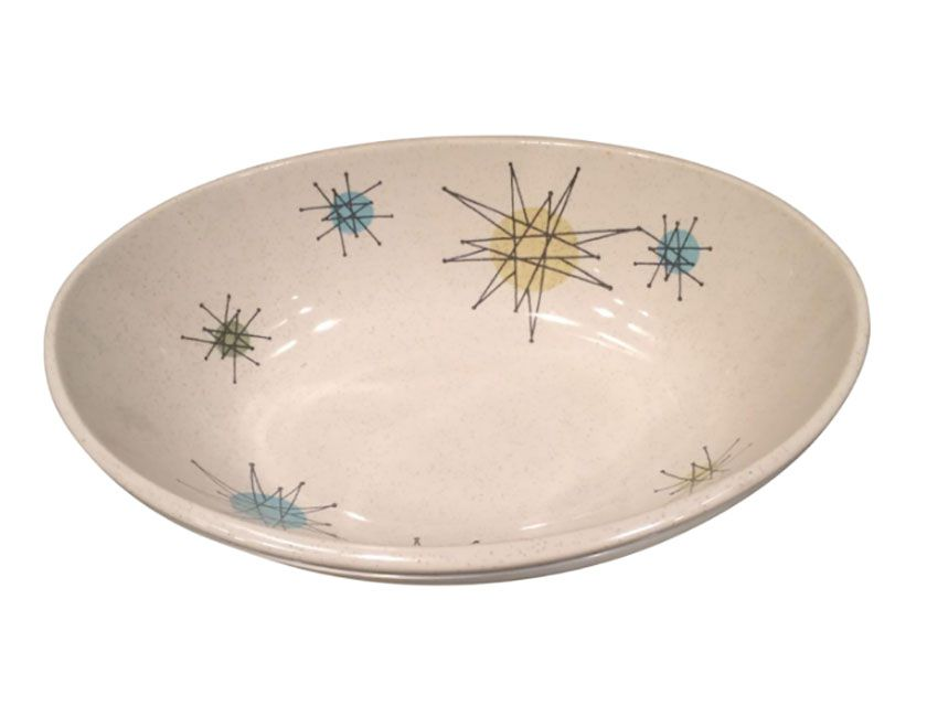 Franciscan Starburst Oval Vegetable Bowl