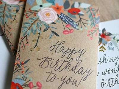 25 Of The Most Inspiring DIY Birthday Cards Card Making