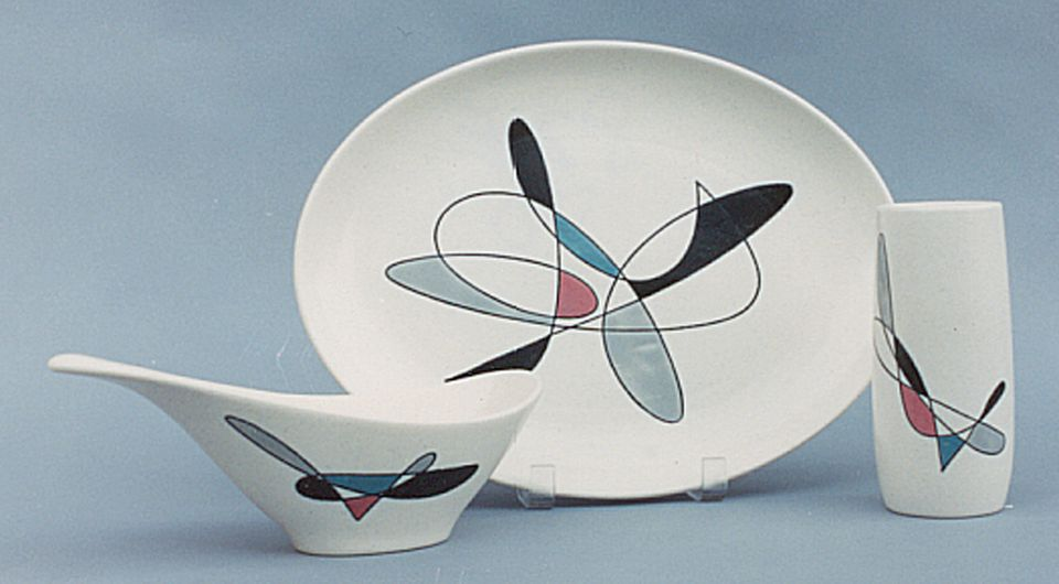 Metlox California Contempora Dinnerware.