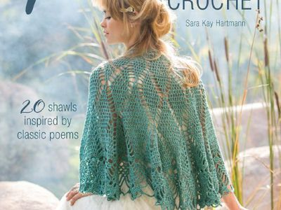 8 Tunisian Crochet Shawl Patterns