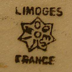 Coiffe Limoges France Mark