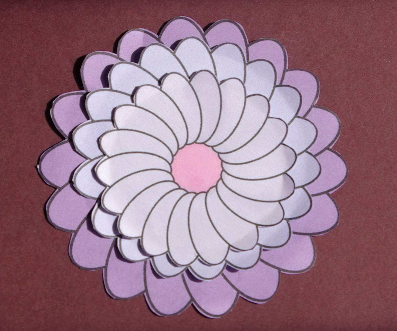 Flower Digital Stamps