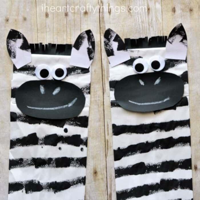 Zebra Puppet