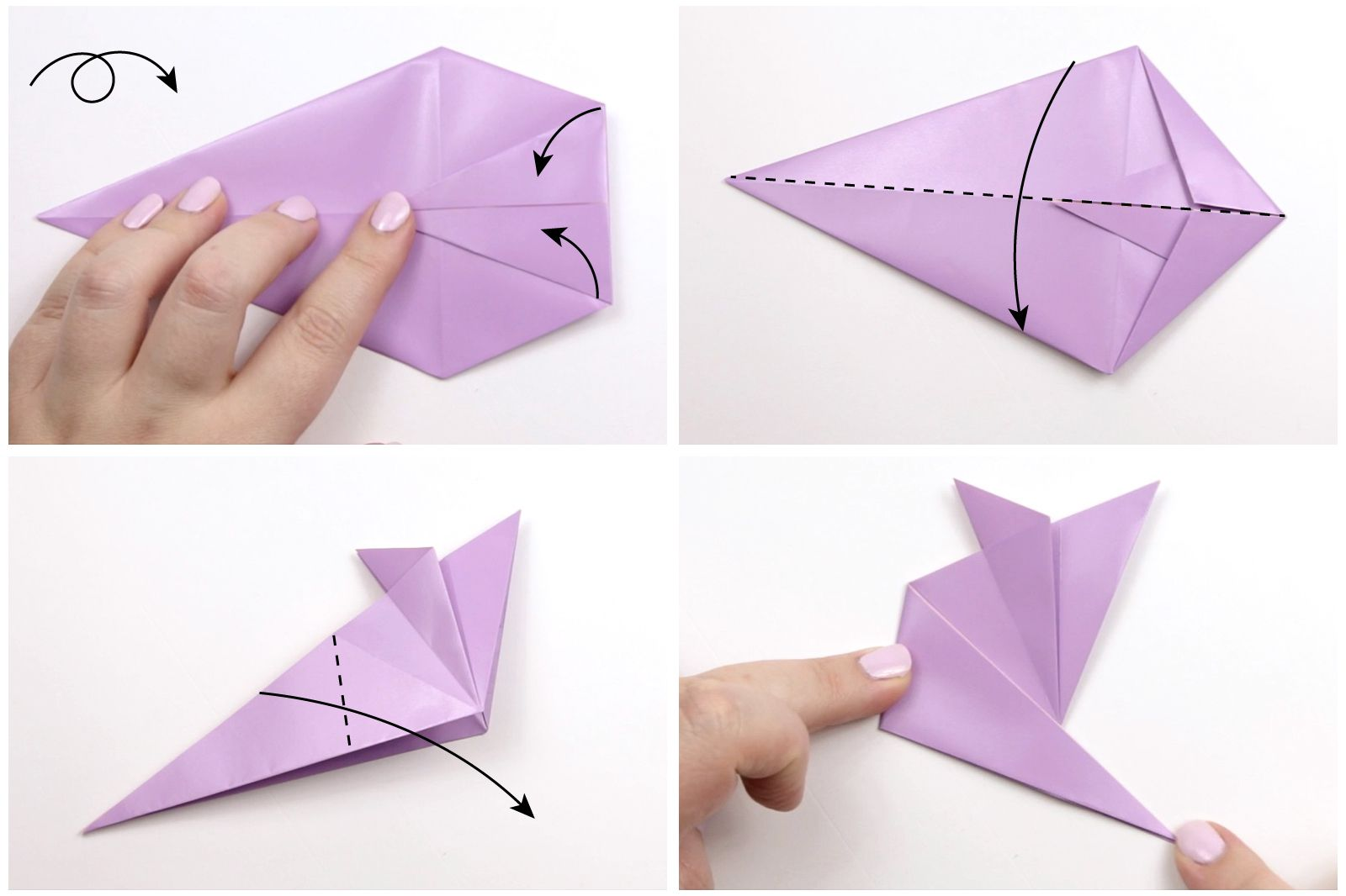 How to Make an Origami Mouse Origami Mouse Diagram on