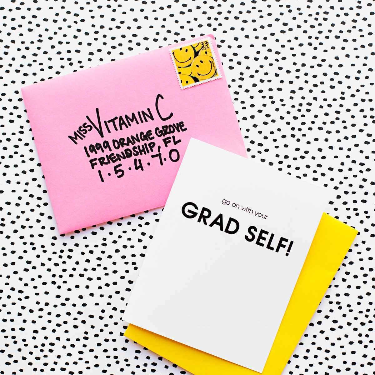 DIY Printable Graduation Card