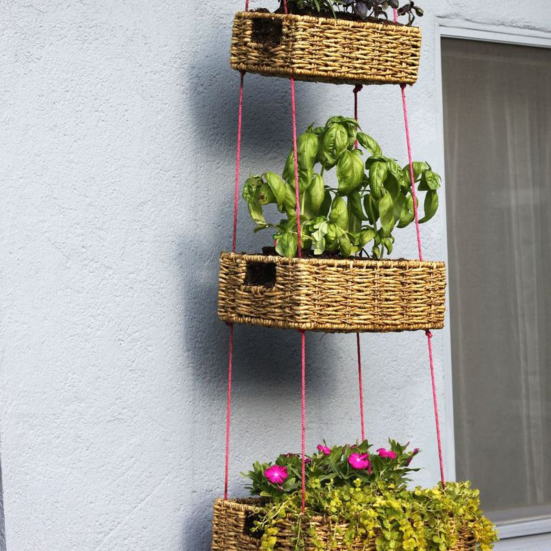 DIY Hanging Basket Planters