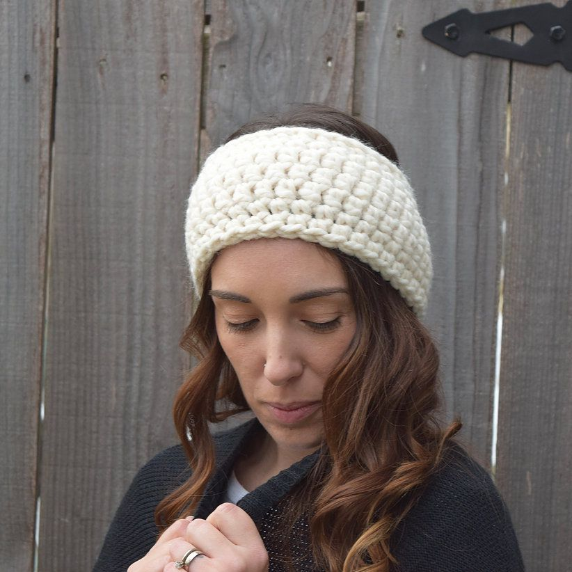 10 Free Crochet Ear Warmer Patterns
