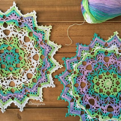 20 Inspiring Free Filet Crochet Patterns
