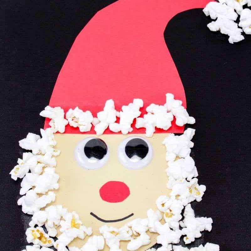 Popcorn Santa