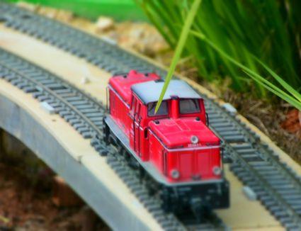 Miniature toy train