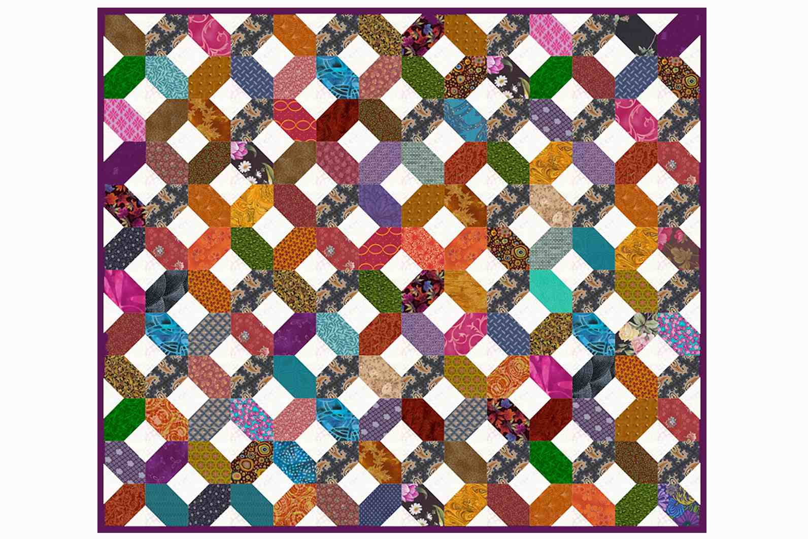 Easy Hugs And Kisses Quilt Pattern