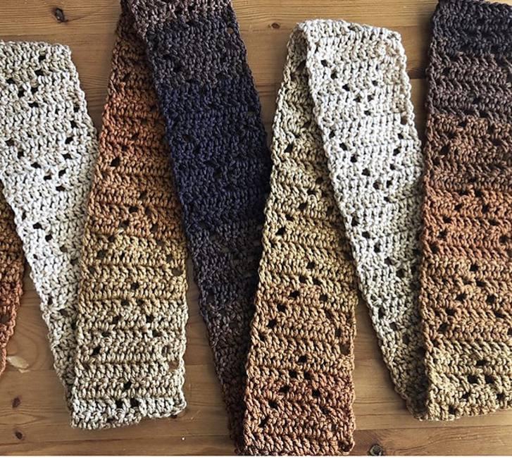 Crochet Skinny Scarf Free Pattern