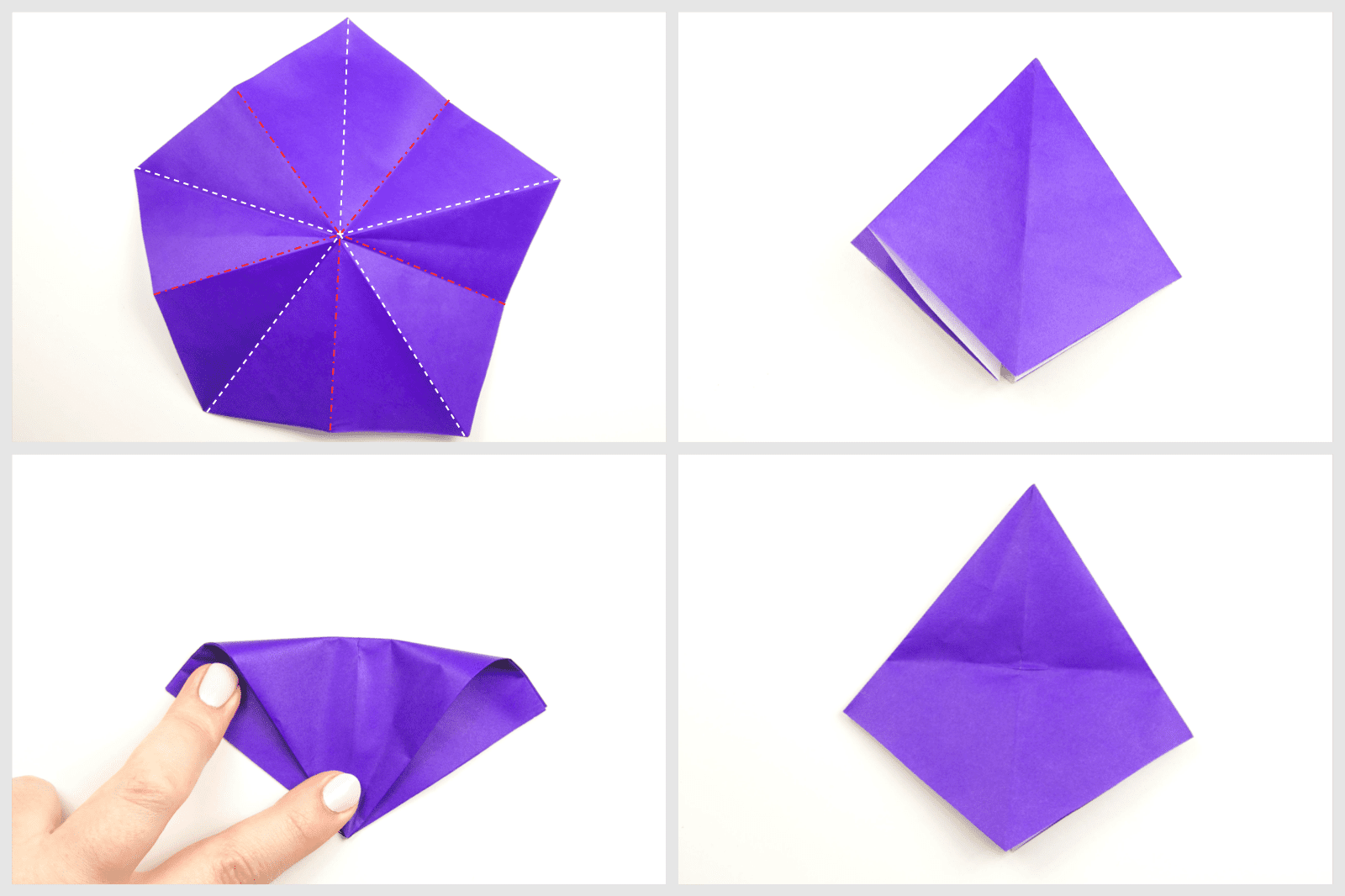 Origami Witches Hat Tutorial 03