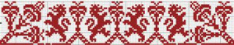 Folklore frieze