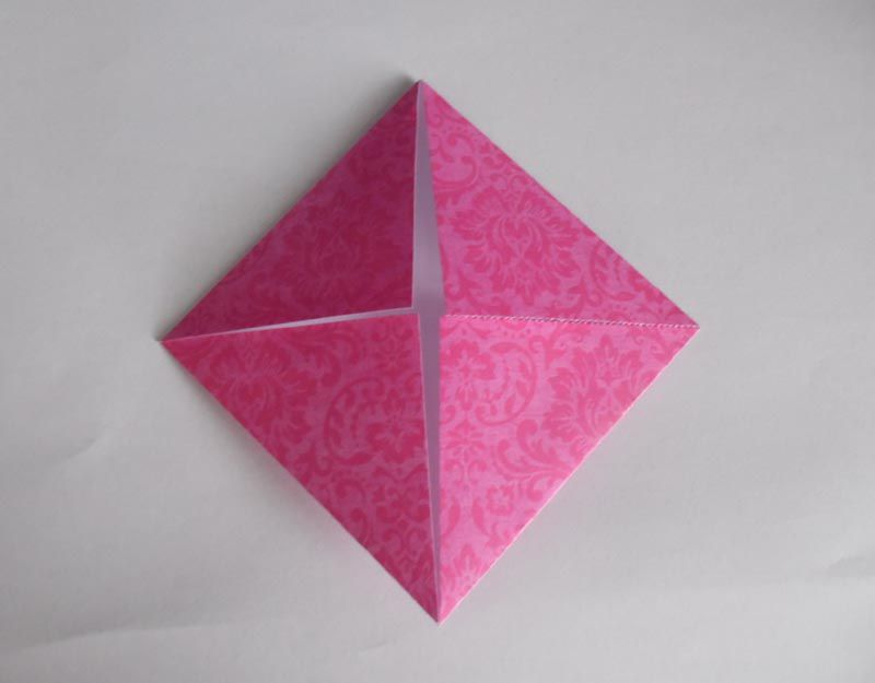 16 Point Origami Star