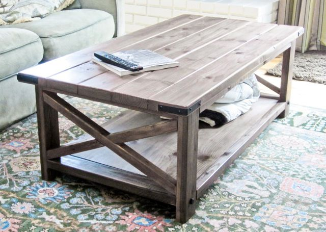 21 Free DIY Coffee Table Plans You Can Build Today on Coffee Table Plans  id=85353