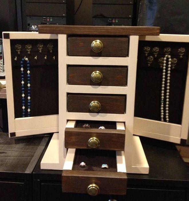 9 free diy jewelry box plans solutioingenieria Images