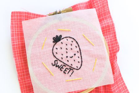 Using The Tracing Paper Embroidery Transfer Method Stunning Pattern Tracing Paper