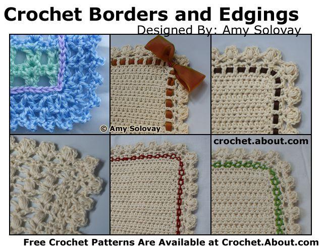 Baby Blanket Crochet Edgings