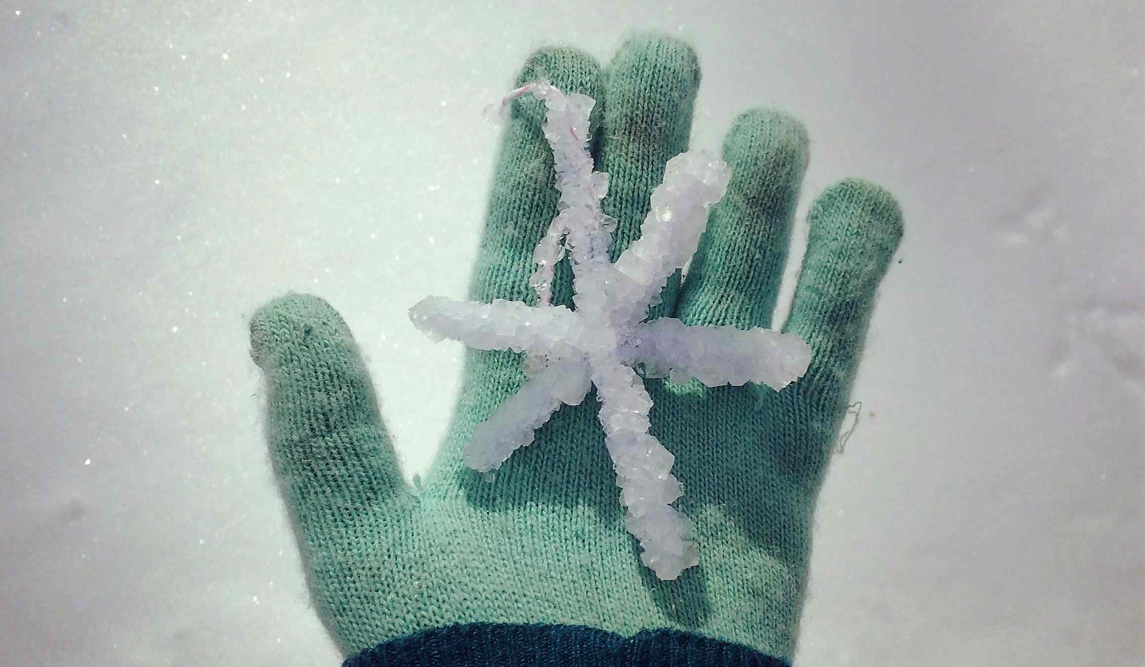 Borax Snowflake