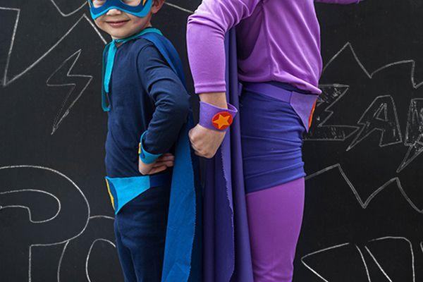 homemade super hero costumes no sew