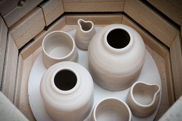 Pottery making kiln