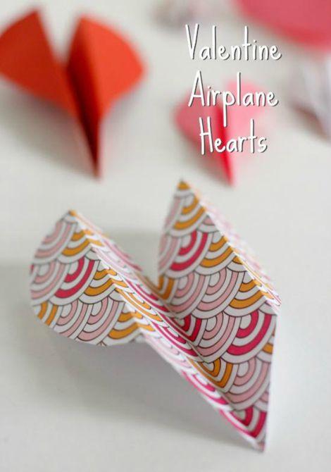 Valentine Heart Airplanes