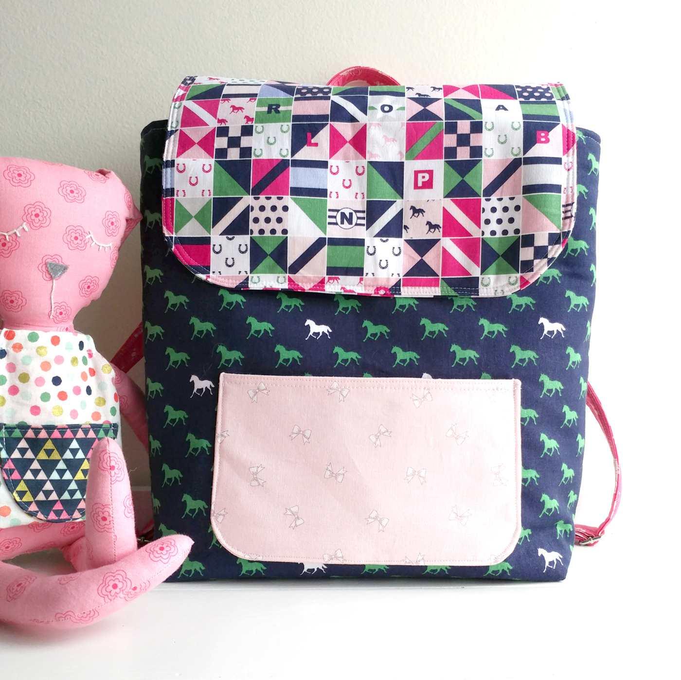 Free Sewing Tutorial: Toddler Backpack Pattern
