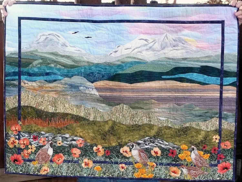 Landscape Quilt Patterns Amazing Decorating Design