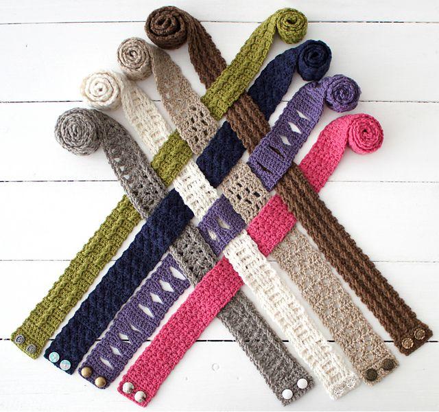 Scrap Yarn Crochet Cowl Pattern