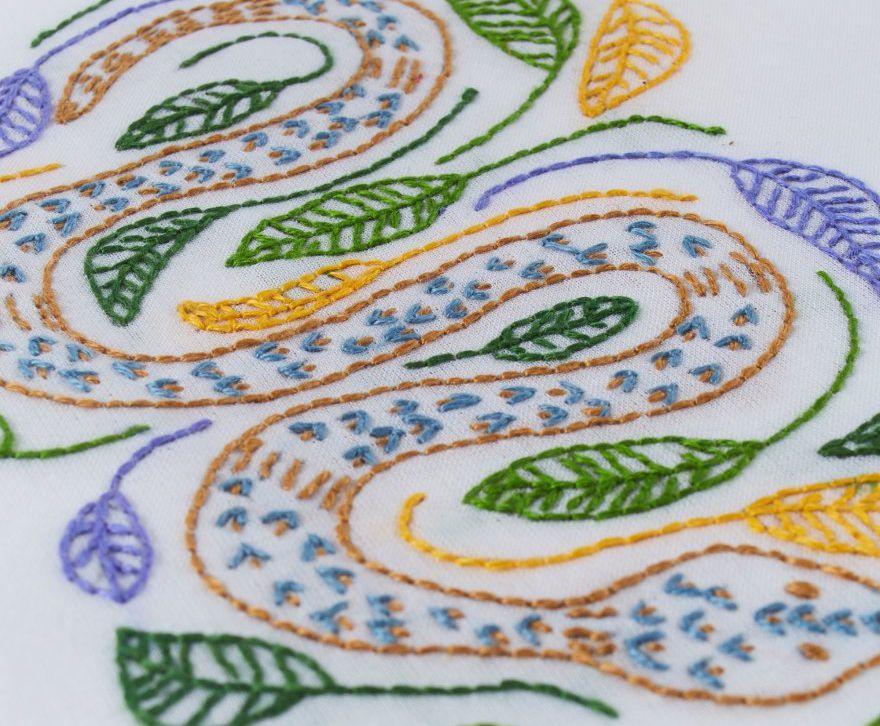 S Snake Pattern