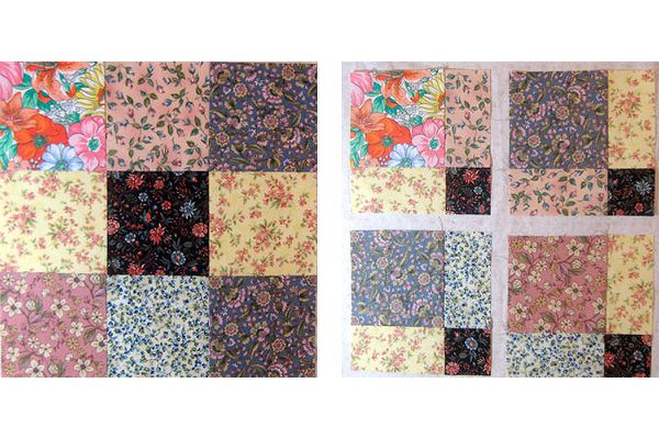 How to Make Disappearing Nine Patch Quilts