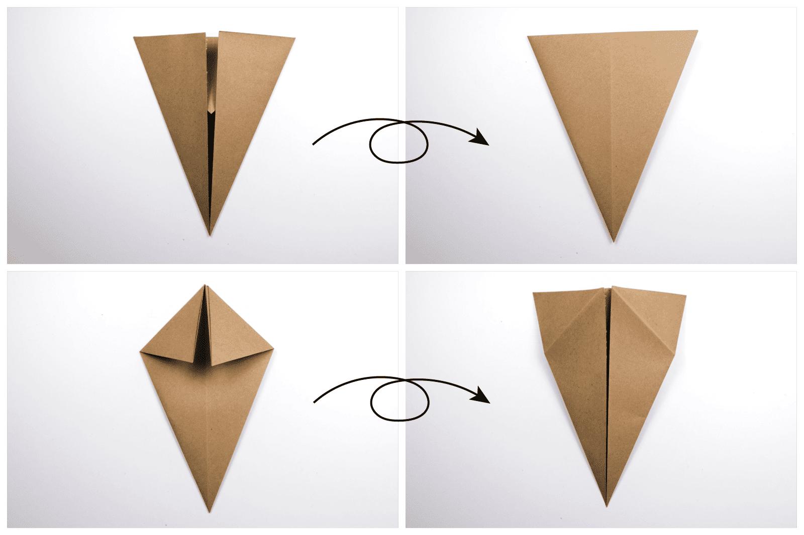 Origami Turkey Tutorial Phase 2
