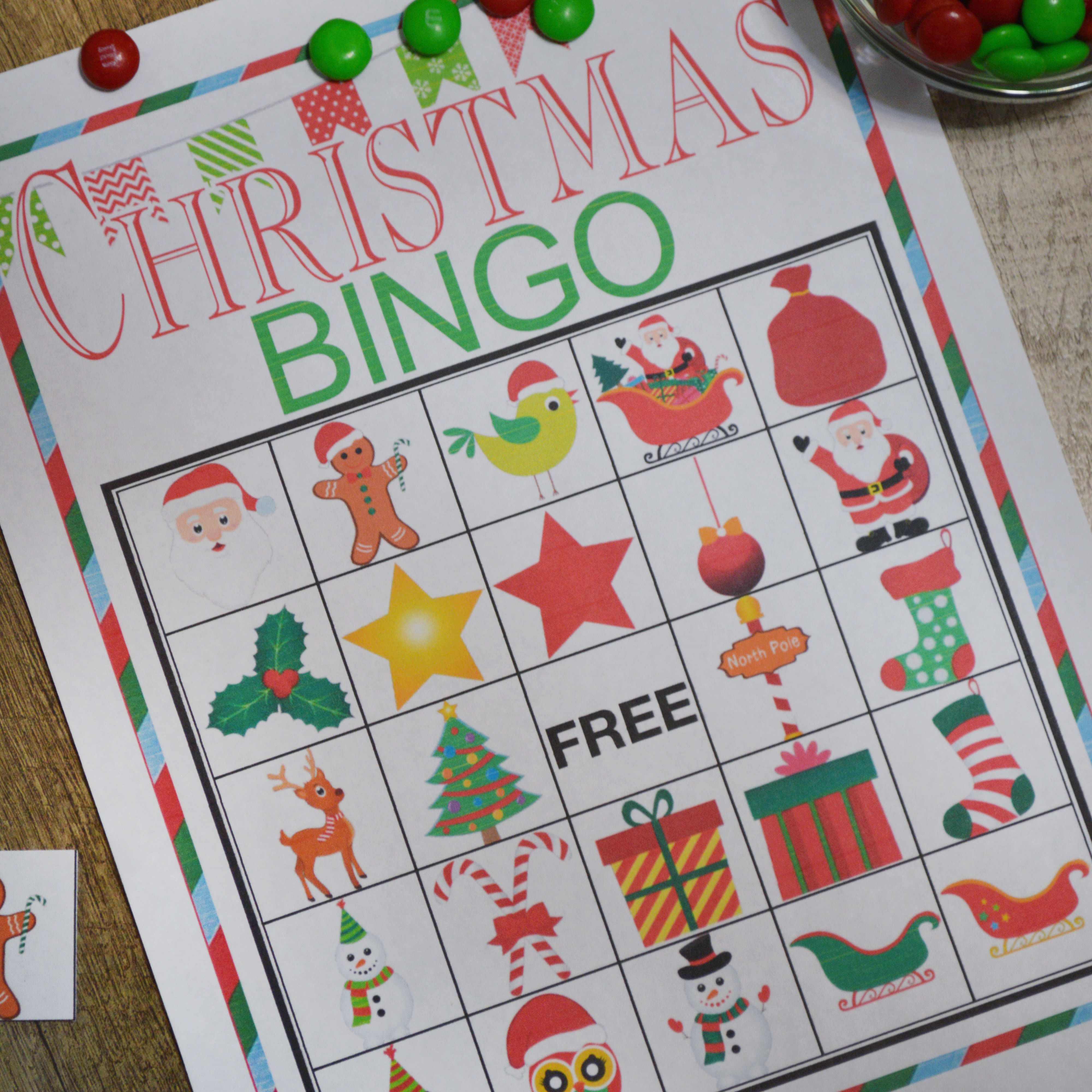 Free Printable Christmas Bingo Cards For Adults: 11 Free, Printable Christmas Bingo Games For The Family