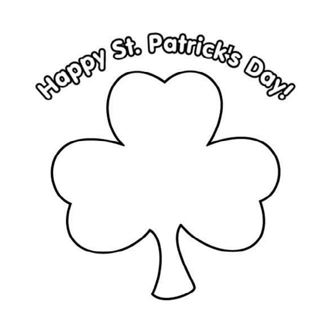 Free, Printable St. Patrick's Day Coloring Pages