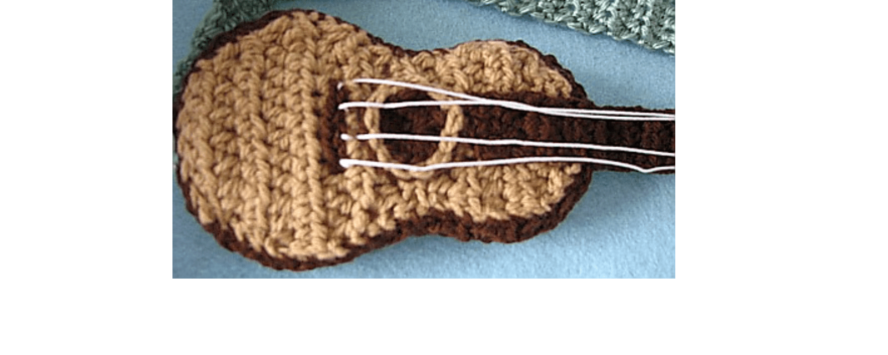 Crochet Guitar Free Pattern